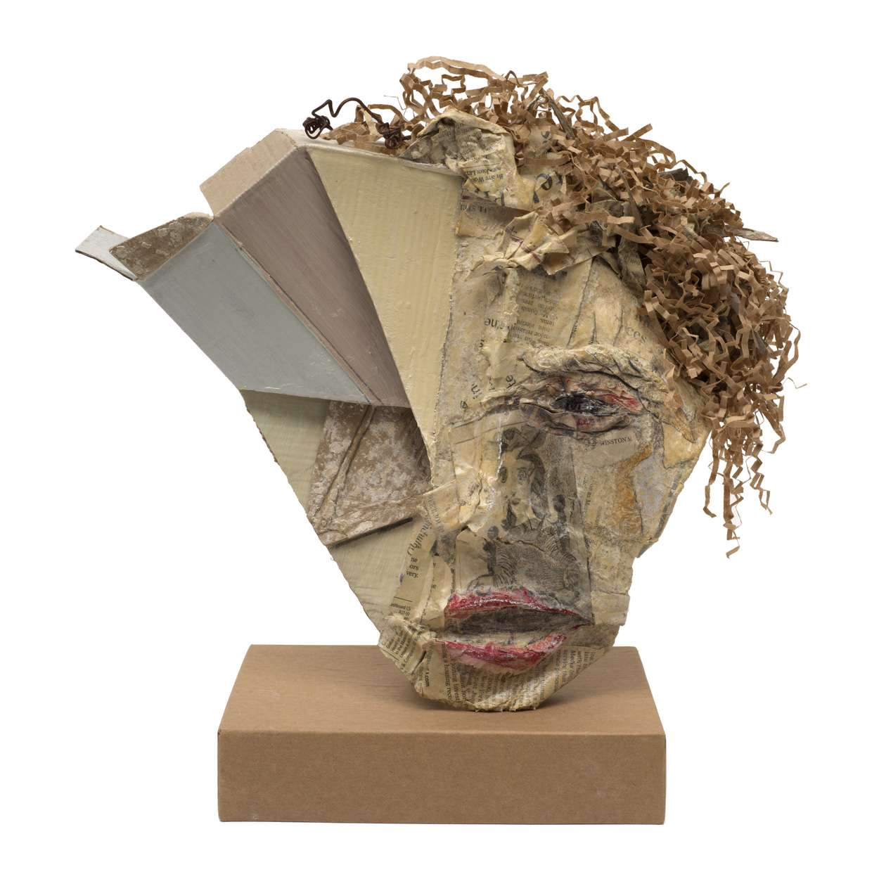 Head with Curls by Martha Brill